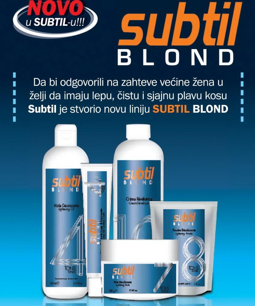 Subtil Blond